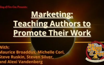 Marketing Part 2 – Teaching Authors to Promote Their Work