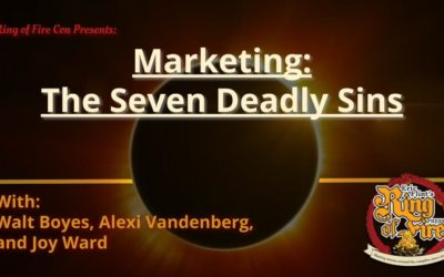 Marketing Part 1 – The Seven Deadly Sins