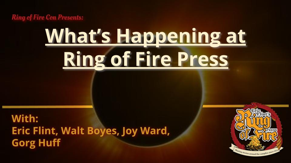 What's Happening at Ring of Fire Press