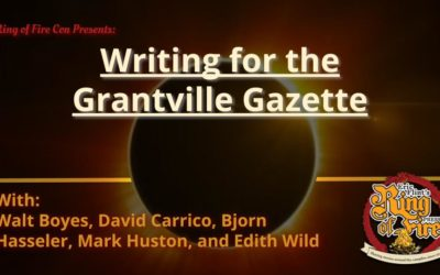 Writing for Grantville Gazette